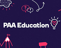 Rebranding for Sydney Company PAA Education