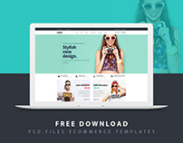 Free Download l MSTORE PSD Ecommerce Templates