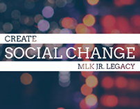Create Social Change Poster
