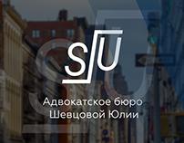 Website of the Law office of Yulia Shevtsova - UX/UI