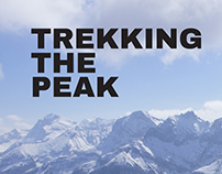 Trekking The Peak // Travel Brochure