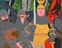 Medieval Gouache Studies III