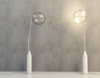 """Bubble"" lamp"