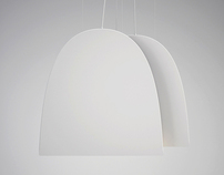 """Flat light"" lamp"