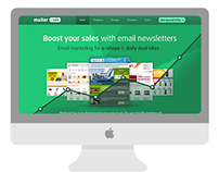 MailerSale.com web design