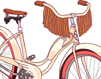 Clan Bike illustrations