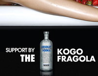 ABSOLUT BY KOGO FRAGOLA