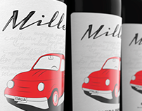 Mille 1 - Wine Label