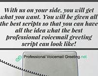 Professional voicemail greeting pictures on behance professional voicemail greetings script writers m4hsunfo