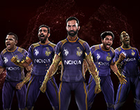 Work for Kolkata Knight Riders , AD AGENCY - DDB MUDRA