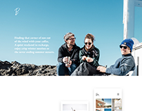 Web design - Boretunet Surf Hostel