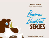 AIGA Business Breakfast Series