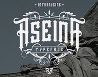 Aseina Typeface + bonus (intro sale)