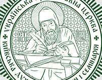 redesign of the Kiev Theological Academy logo