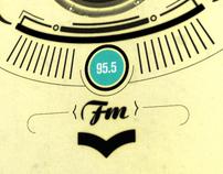 Advertising radio program-motion graphics