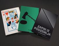 Book covers - Fyodor Dostoyevsky
