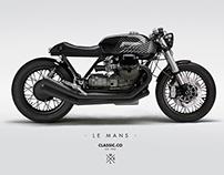 Design Moto Guzzi Le Mans