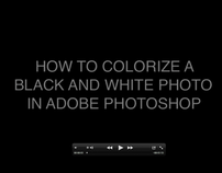 Colorizing Black and White Photos-A Tutorial