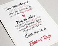 Save the Date | Wedding Invitation