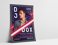 DJ Concert Flyer Template