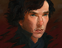 Portrait of Sherlock