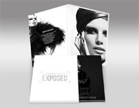 Fashion Photography Exposed DVD Digi-pak Box Design