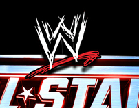 WWE All Stars Branding