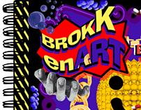 BROKEN ART (sample flyer) by chanpoo