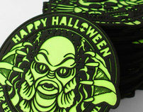 Laser-Cut Halloween Coasters 2011