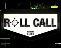 """Call of Duty Elite """"Roll Call"""" grfx package"""