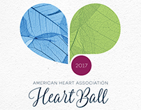 American Heart Association – Heart Ball 2017 logo
