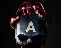 Poster Provisional de CAPTAIN AMERICA: CIVIL WAR