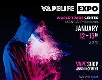 Vapelife Expo 2019 Social Banned Project