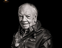 Portraits of WWII Veterans