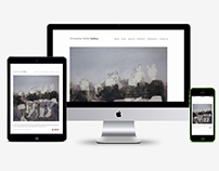Art Direction/ Website Layout/ Contemporary Fine Art