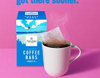 David Sykes - Taylors Coffee Bags
