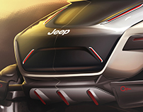 2035 Jeep Offroad Concept FCA Sponsored Thesis Project