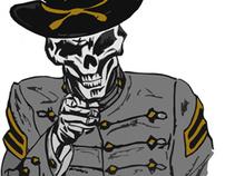 F-Troop Company T-shirt Design