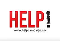 HELP! - Child Abuse Campaign Poster (College Project)