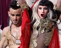 Lady Gaga Judas by Assaad Awad