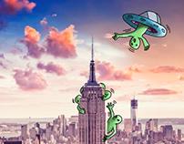 Aliens in NY