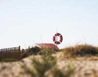 maquete da praia