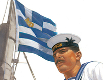 Hellenic (Greek) Navy Uniforms, WW2