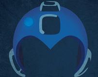 Ilustraciónes para libro tributo a Megaman