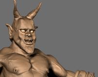 Pan God Sculpt