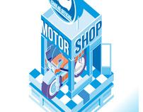 MOTOR SHOP - Exposition