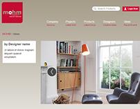 Mohm Furniture website revamp