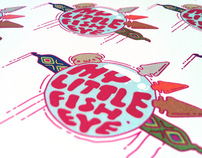 MyLittleFisheye illustrative logotype