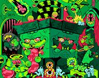 野狗富贵丨2020 Illustration Works