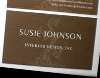 Susie Johnson Interior Design Identity